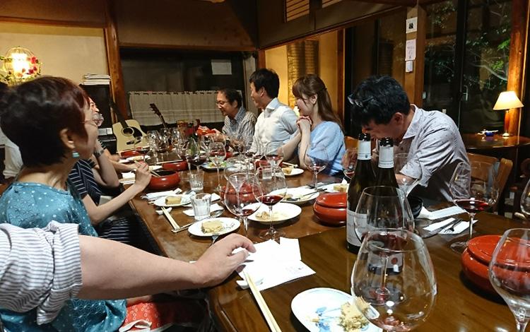 ワインと美味しい食事の会